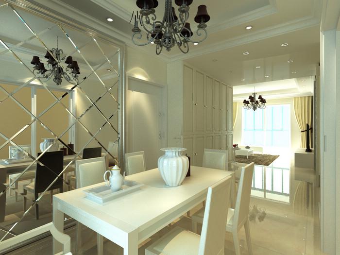 欧式饭厅装修效果图 家具