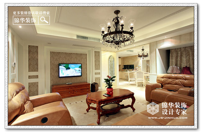 客厅装修效果图-装修图片-南通分公司
