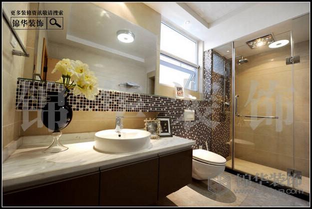 欧式洗手间装修效果图 高清图片