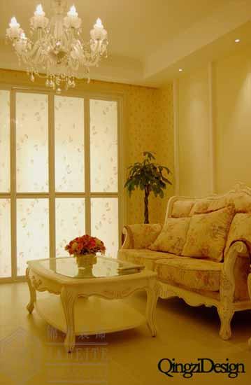 南通分公司装修图片-三室两厅装修效果图-简欧风格