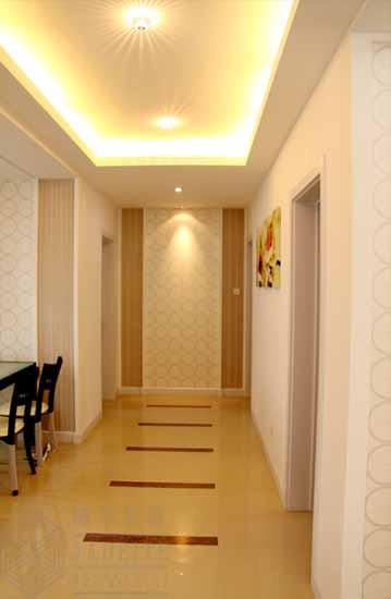 80平方米欧式装修风格样板房