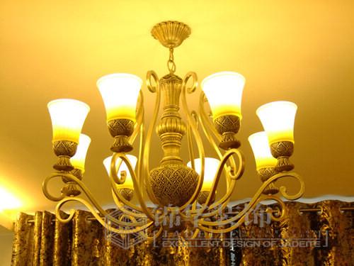 客厅主灯欧式吊灯图片