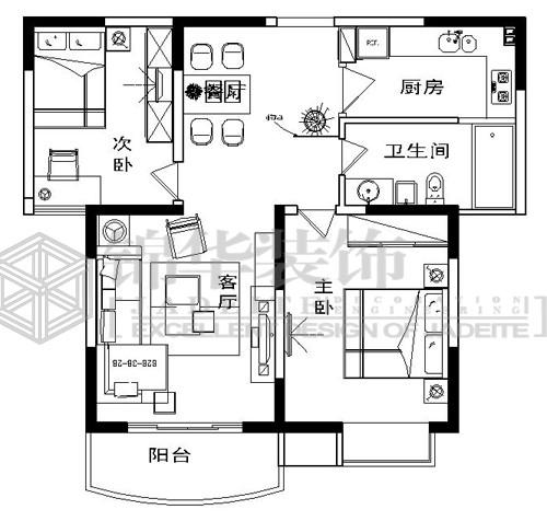房间布置结构图; 16平米卧室效果图图片分享;