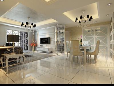 两房两厅装修效果图图片分享;