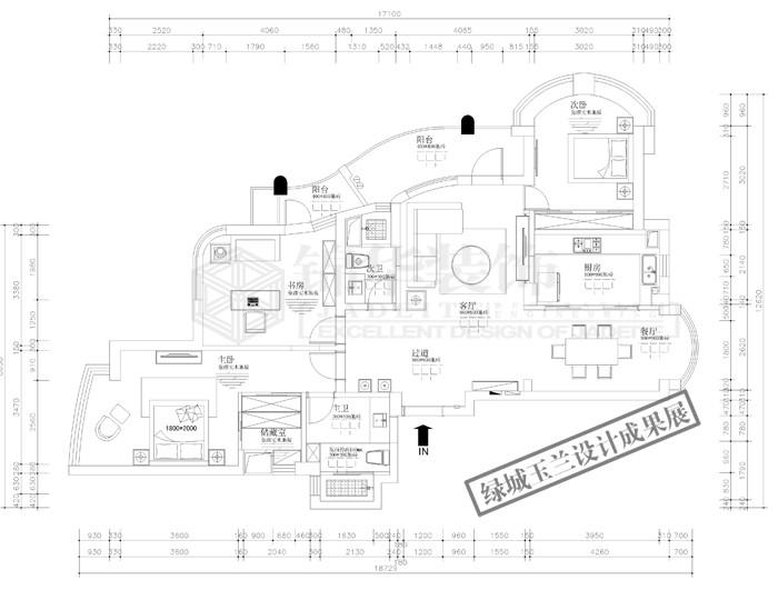 绿城玉兰公寓一期,二期 85套设计成果展