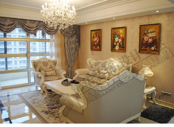 海安华新一品三室两厅装修效果图-南通分公司