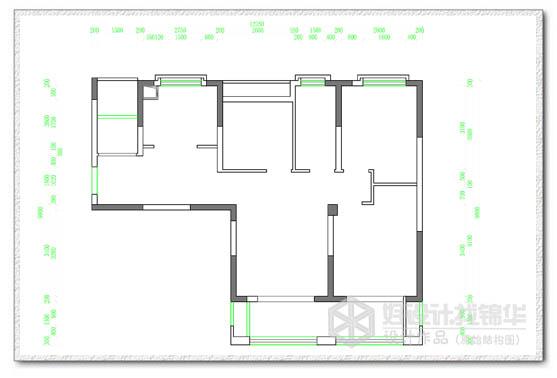 59# 08户型 102平米-装修设计方案-南通锦华装饰